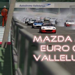 SRO Mazda MX5 Cup - Race 4 - Vallelunga - Assetto Corsa - Simracingonline.co.uk