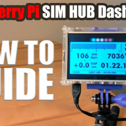 Raspberry Pi SIMHUB Dashboard: How to guide!