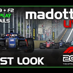 F1 2019 LIVE | FIRST LOOK + GAMEPLAY AND CAREER NEWS!