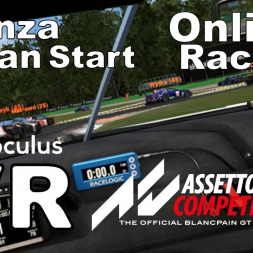 Assetto Corsa Competizione - VR Online - What happens when a Monza start is clean