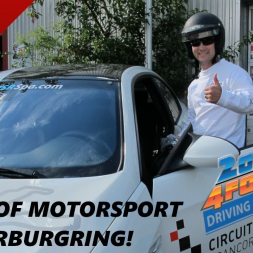 From Sim Racing to the Nurburgring IRL renting a bad ass car!