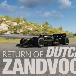 Return of the Dutch Grand Prix at ZANDVOORT