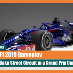 F1 2019 Gameplay: Baku Attack! Formula One Action on the Streets