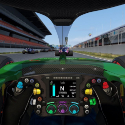 RSS Formula Hybrid 2019 - 20 laps race @ Barcelona - VR recording