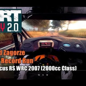 DiRT Rally 2.0 - Poland Zagorze World Record (Ford Focus RS 2007 - 2000cc class)
