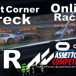 Recovery drive after online race turn 1 bumper cars puts me plum last at Nurburgring (VR)