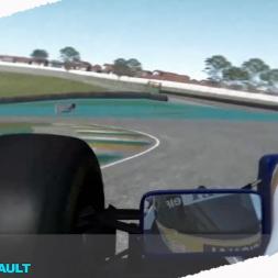 Rfactor2 Ayrton Senna describes the circuit of Interlagos