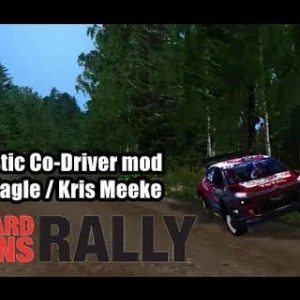 Richard Burns Rally - Must Stop! Flat-Out - Realistic Co-Driver mod (Paul Nagle New ver.)
