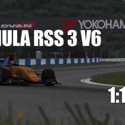 Assetto Corsa - Formula RSS 3 V6 @ Okayama - Hotlap with Setup