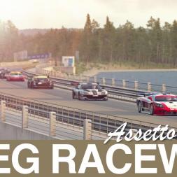 Too beautiful to not become a race track! Sveg Assetto Corsa Mod