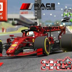 Assetto Corsa * RSS Formula Hybrid 2019 Barcelona [hotlap]