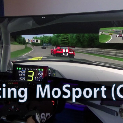 Testing MoSport in Assetto Corsa (GT3)