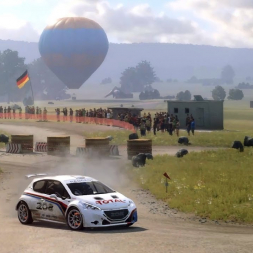Dirt Rally 2: Peugeot 208 T16 R5 @ Germany (Hammerstein)