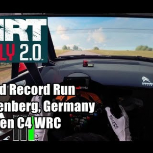 WORLD RECORD - Frauenberg, Germany - DiRT Rally 2.0 (Citroen C4 - 2000cc Class)