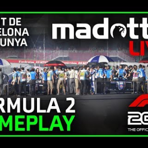 F1 2019 LIVE | FORMULA F2 BARCELONA GAMEPLAY