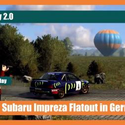 DiRT Rally 2.0 - Subaru Impreza Flatout in Germany (Pure Sounds)