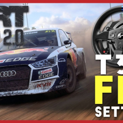 Dirt Rally 2 T300RS Force feedback settings