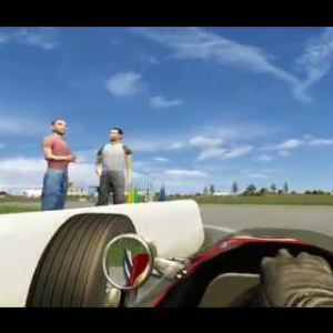 60's Jyllands-Ringen (Silkeborg) WIP Preview   Assetto Corsa   F3 Classic Tracks