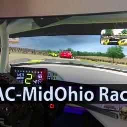 AssettoCorsa - Mid Ohio - Mercedes AMG GT3 [KI_RACE]