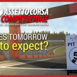 Assetto Corsa Competizione will be releasing TOMORROW - What am I expecting out of it?