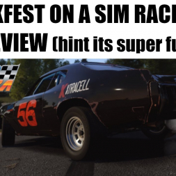 Is it worth $45 a year later? Wreckfest review from a sim racing perspective