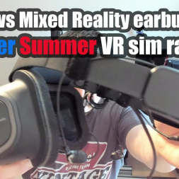 Windows Mixed Reality earbuds mod - Cooler summer VR sim racing!!!!