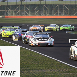 Assetto Corsa Competizione - Aston Martin at Silverstone Day/Night Race Gameplay
