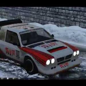 NIGHT SNOW RACE /  PROVENCE ALPS / v1.2