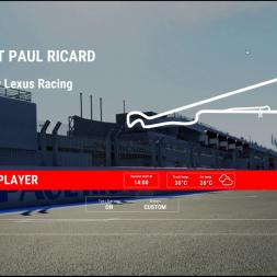 Paul Ricard - 90min multiplayer race.