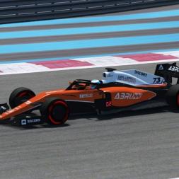 rFactor 2 | FSR 2019 Car | Paul Ricard Hotlap 1:27.479