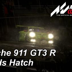Porsche 911 GT3 R - Brands Hatch - Night & Rain - Assetto Corsa Competizione