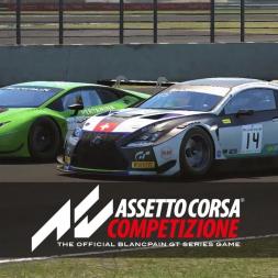 Lexus RC F GT3  Silverstone  Assetto Corsa Competizione