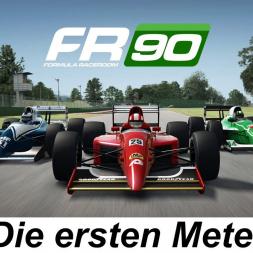 Die ersten Meter in der neuen Formula RaceRoom 90 - RaceRoom Racing Experience - Let's Play