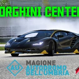 Lamborghini Centenario | HOTLAP at Magione | Assetto Corsa | 4K