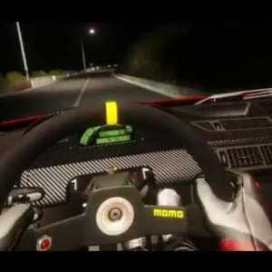 MONTE ERICE / Night / Early Access / test 1 /Assetto Corsa