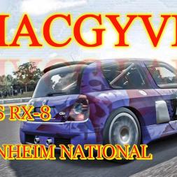 MACGYVER: B-Class RX-8 Hockenheim National
