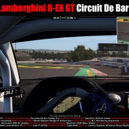Reiter Lamborghini R EX GT  Circuit De Barcelona Assetto Corsa Competizione