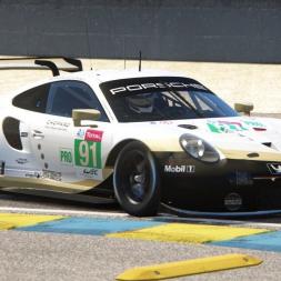 Assetto Corsa VR | Porsche 911 RSR | Le Mans Hotlap 3:58.933