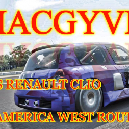 MACGYVER: B-Class Renault Clio Road America West Route
