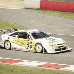Assetto Corsa | Opel Calibra DTM | Donington Park National Hotlap 1:04.638