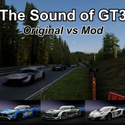 The Sound of GT3 - Original Sounds vs. Sound Mods - Assetto Corsa