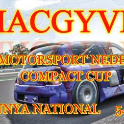 Forza Motorsport Nederland - Compact Cup Race 8 - Catalunya National
