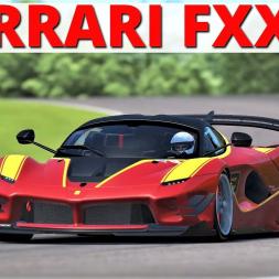 Ferrari FXX K | Testing at Thruxton | rFactor 2 | 4K