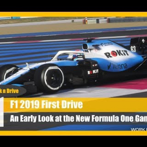 F1 2019: First Look Gameplay and Impressions