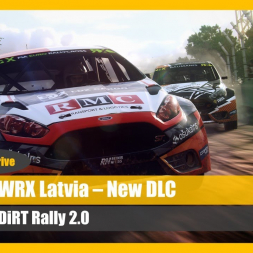 DiRT Rally 2.0 - Latvia Rallycross DLC Test Drive