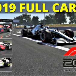 F1 2019 FULL CAR LIST | LEGENDS EDITION RELEASED! | 4K