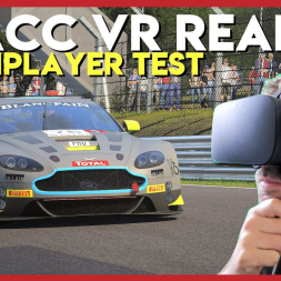 Is Assetto Corsa Competizione's VR performance good enough to use in multiplayer?