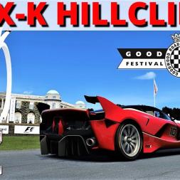 Ferrari FXX-K | Goodwood Hillclimb Shootout | Assetto Corsa | 4K
