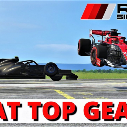 FORMULA 1 AT THE TOP GEAR TEST TRACK?!   Assetto Corsa   4K