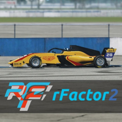 Tatuus F.3 T318 | Sebring International Raceway | rFactor 2
